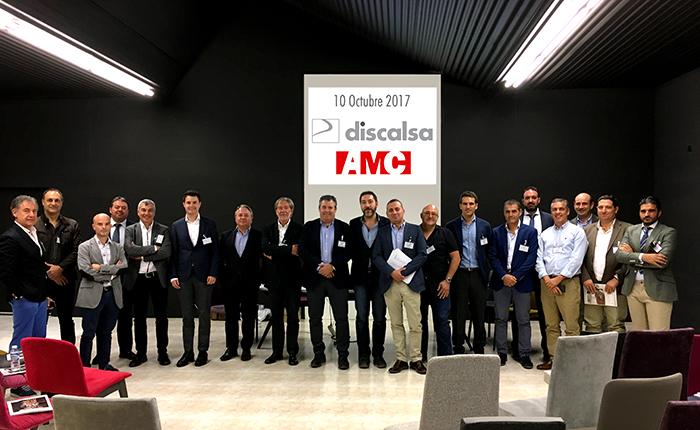 Reunión de trabajo de AMC en DISCALSA