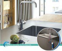 Genebre sistema de filtración para agua doméstica osmosis inversa grifería de doble salida válvulas de escuadra correspondientes