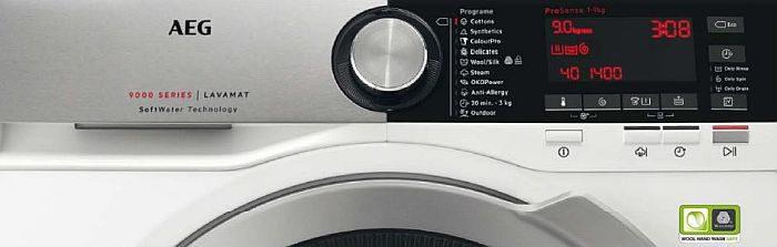 AEG. gama de lavadoras y secadoras de AEG certificación Woolmark Blue tecnología SoftWater sistema AbsoluteCare Test Achat (Bélgica) Altroconsumo (Italia) Consumentengids (Holanda) Which Magazine (Reino Unido). pruebas de producto