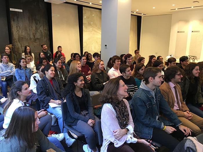 jornada formativa AMC, Mobalco, francisco Dávila, Cosentino, Cosentino City Madrid, estudiantes de interiorismo, AMC, asociación de mobiliario de cocina