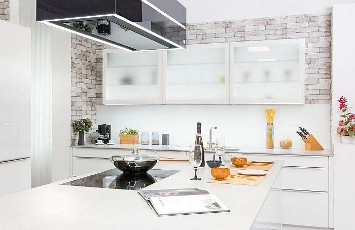 Superficie de cocina Urban Argento, de SapiensStone