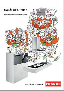 Nuevo cat logo tarifa 2017 de franke cocinaintegral for Franke cocinas catalogo