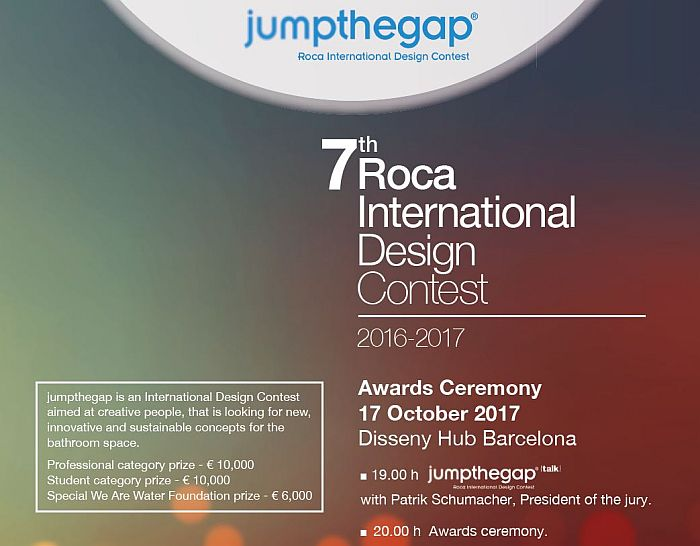 Jumpthegap Roca BCD Barcelona Centro de Diseño Patrik Schumacher Disseny Hub Barcelona Fundación We Are Water Zaha Hadid Architects Benedetta Tagliabue