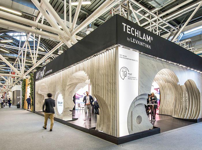 Techlam Levantina Cersaie Rocamora Arquitectos porcelánico