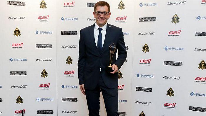 Homag Homag españa Carles Tort Su Solución Premio Stevie de Oro International Business Awards
