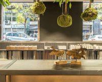 Coblonal Interiorismo showroom de cocinas Azul Acocsa