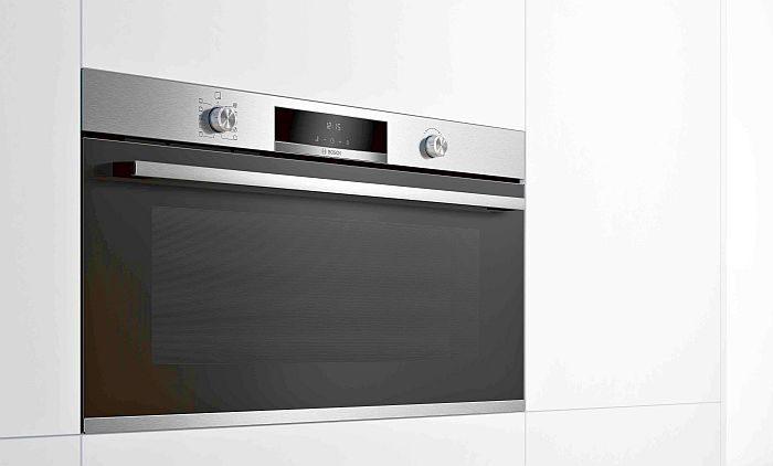 100% vapor bandeja antiadherente bandejas Twin Bosch Clip Rails display LCD Home Connect horno horno de 90×60 cm hornos compactos todo en uno microondas pirolítico Serie 6 serie 8 termosonda con un punto de medición vapor añadido