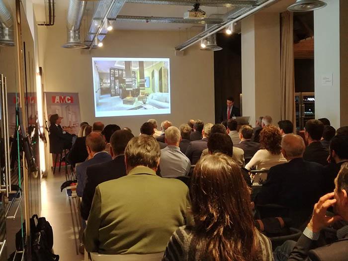 40 asamblea general de AMC, asociación de mobiliario de cocina, frigicoll the art of living, sebastián acedo, amc, juan luis