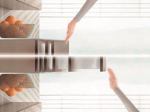 Blum, Tip-On Blumotion,Servo-Drive,sistema mecánico de ayuda en la apertura,sistemas box, cajones de cocina,German Innovation Award 2018