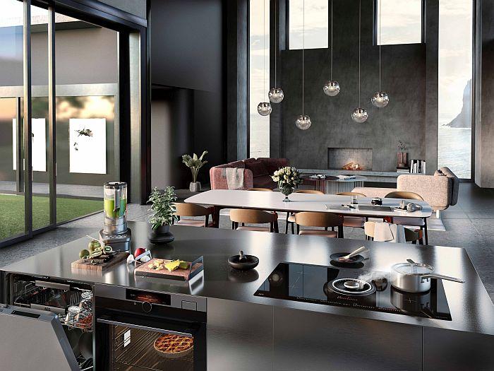 AEG, diseño de cocinas, hotel Babette Guldsmeden, Kitchen Masters Design, restaurante dos estrellas Michelin Kadeau