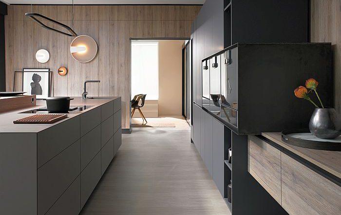 accesorios para muebles de cocina, Alianza para la Neutralidad Climática 2025, Aventos HK Top, Blum, centro de troquelado en Dornbirn, herrajes, Red para la Eficiencia Energética, sistemas box