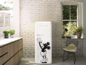 Disney, Dolce&Gabbana, FAB28, FAB28RDMM3, Mickey Mouse, Mini, Smeg, Smeg y Disney, Veuve Cliquot