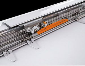 amortiguador magnético, Glow, Salice, sistema de deslizamiento para armarios