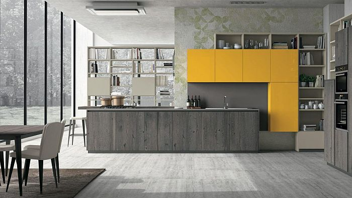 Creo Kitchens, Espacio Cocina-SICI 2019, Lube Cucine, Lube Industries