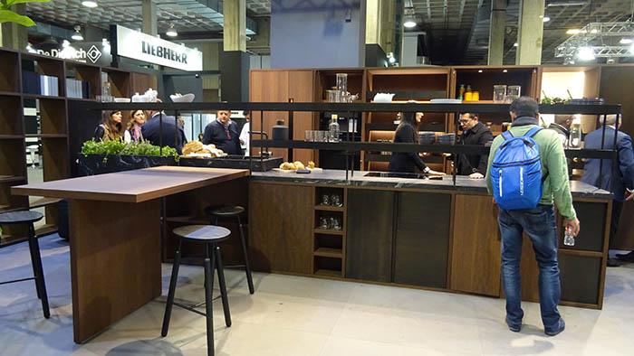 espacio cocina-sici, mueble de cocina, expositores, feria de la cocina