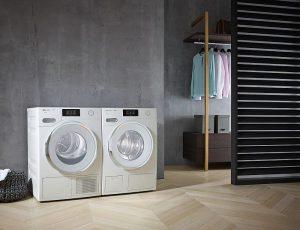 EcoDry, eficiencia energética, gama W1, interfaz M Touch de Miele, lavadora W1 Passion de Miele, Miele, PowerWash, secadora T1 Passion, SingleWash, Spin&Spray, tambor patentado Softtronic, TwinDos