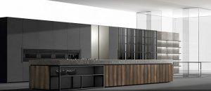 acero, almacenaje, cocinas, Diseño, electrodomésticos de cocina, encimeras, iluminación, Magma Ata New Factory 2, mobiliario de cocina, muebles de cocina, piedra natural, roble fósil, tendencias en cocinas para 2019