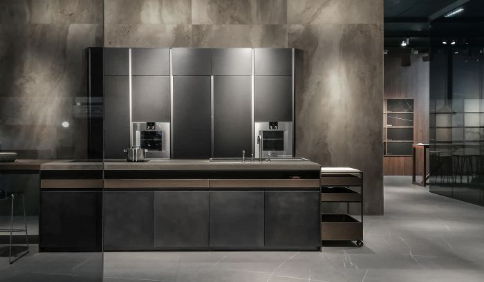 Dada | Molteni & C, Hydra model, Inalco, kitchen countertops, LivingKitchen 2019, Senda collection, Syros collection, Vint collection