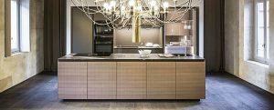 cocinas, Ernestomeda, fresno europeo, madera, Michele De Lucchi, mobiliario de cocina, muebles de cocina, Obliqua