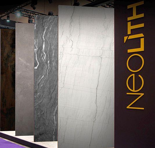 acero, cocinas, cuarcita, encimeras de cocina, granito, hormigón, KBIS, Kbis Las Vegas, Neolith, Neolith en Kbis, piedra sinterizada, superficies de cocina