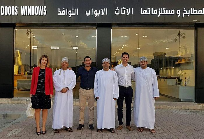 Emirates, Inko, Kitchens, showroom, spanish kitchens, United Arab Emirates