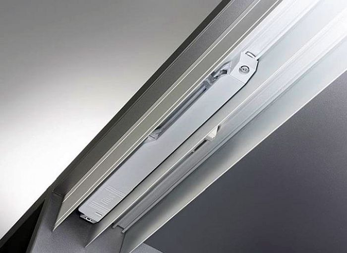 mecanismo de cierre suave para puertas correderas, Set 200, sistema de cierre suave para puertas correderas, Titus, Titusoft SD100s