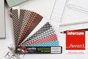Cantisa, canto efecto reja, Diseño de muebles, High Product Quality, industria del mueble y sus componentes, Interiorismo, Interzum Award, Interzum Awards, Teatro Tanzbrunnen