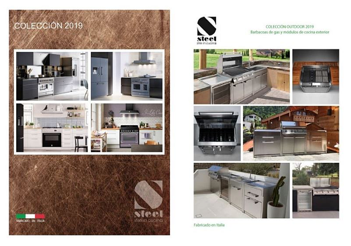 Catalogos De Cocinas   Cocina Integral Salen Los Nuevos Catalogos De Steel Cocina Integral