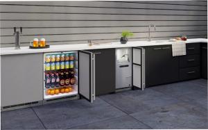 almacenamiento, carros con ruedas, cocina de exterior, DAKE, electrodomésticos de cocina, encimeras, refrigeradores y congeladores bajo encimera, U-Line