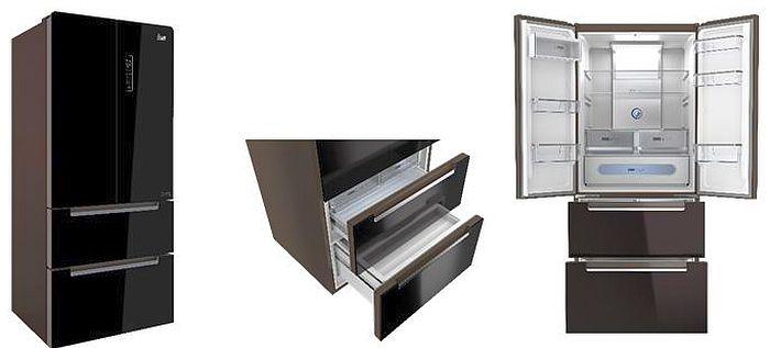 4 Puertas, 540 l, cajón más evolucionado, control personalizado de humedad, display, electrodomésticos de cocina, French Door Gourmet, frigoríficos, GourmetBox, LongLife No Frost, motor inverter de alta eficiencia A++, tecnología IonClean, Teka, VitaCareBox