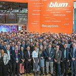 Blum, Blum Interzum 2019, herrajes para el mueble, Interzum, Interzum 2019, mundo en movimiento