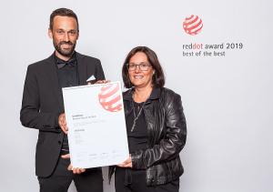 Best of Best, grifería, Hansgrohe, Jan Heisterhagen, premio Red Dot Award, Red Dot Award, vicepresidente de producto de Hansgrohe