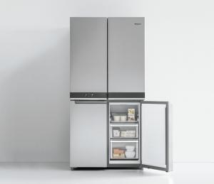 conservación de alimentos, electrodomésticos, frigorífico, frigorífico combi multipuerta, libre instalación, multipuerta, Nevera, W Collection, Whirlpool, WQ9 B2L