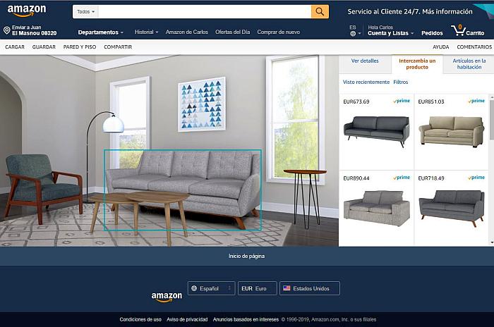 Amazon Showroon