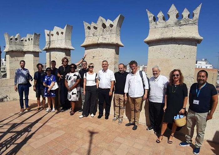 El Comité de Expertos de la World Design Organization (WDO) visita Valencia. Verano 2019.