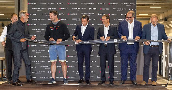 Inauguración del nuevo Cosentino Center en Suiza.