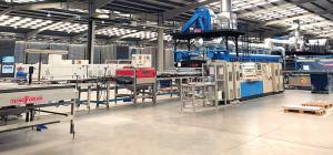 Nueva línea de producción de Grupo Grespania