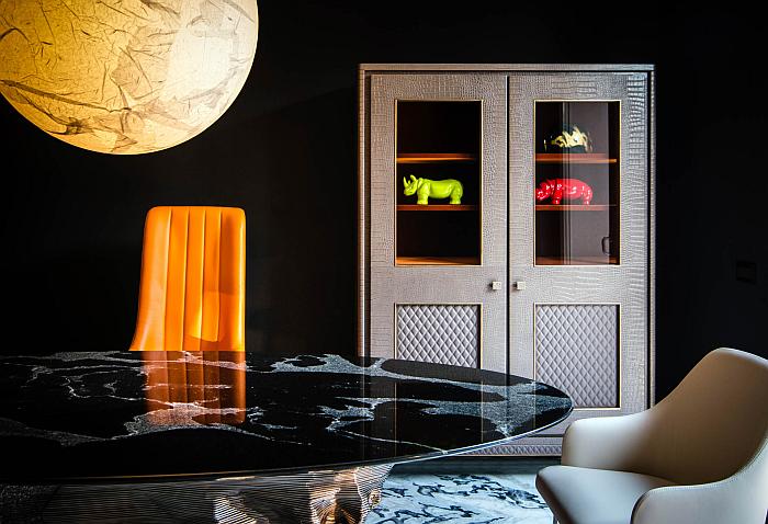 Nuevo showroom de Antolini en Milán.