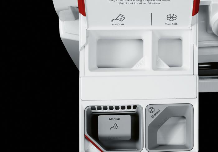 Sistema AutoDose de las lavadoras AEG