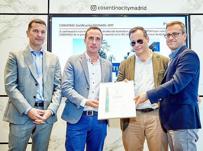 Cosentino obtiene la ISO 20400