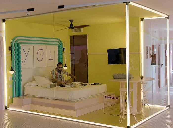HPL Just Rose en la Zero Suite del Paradiso Ibiza Art Hotel