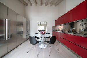 Cocina Atelier by Abimis en rojo