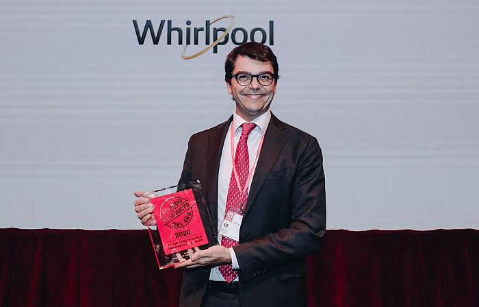 Niccolò Petrucci, director de marketing de Whirlpool España