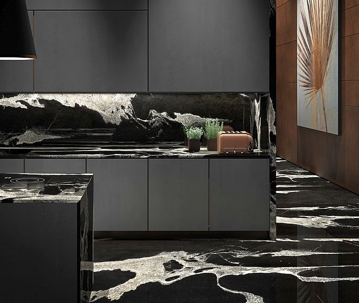 Antolini: granito PythonBlack