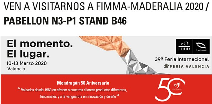 Mondragón en Fimma-Maderalia 2020