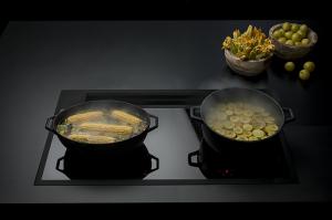 Sistema de cocción integrado Sintesi, de Falmec, ahora también en negro