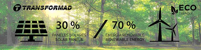 Transformad avanza en la utilización de energía renovable