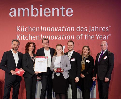 La grifería Aquno Select M81 gana el KitchenInnovation of the Year 2020