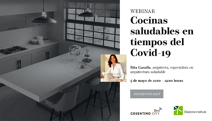 Cosentino sigue ofreciendo contenidos online de arquitectura y diseño