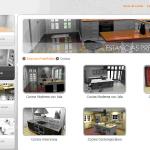Diseñador de cocinas 3D de AMC